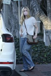 Elle Fanning - Christmas Shopping in West Hollywood 12/18/2020