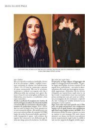 Ellen Page - Grazia Italy 12/10/2020 Issue