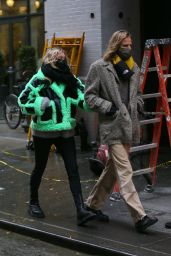 Elsa Hosk and Tom Daly - Out in NYC 12/04/2020