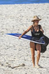 """Elsa Pataky in a """"Gypsy"""" Swimsuit at Byron Bay"""