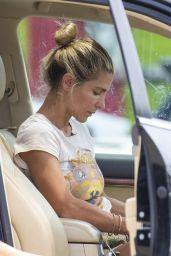 Elsa Pataky - Pit-stops for Happy Meals at a McDonals