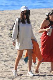 Emily Ratajkowski on the Beach in Los Angeles 12/20/2020