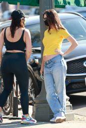 Emily Ratajkowski Steet Style - Los Angeles 12/10/2020