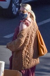 Emma Roberts - Out in Los Angeles 12/15/2020