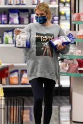 Emma Roberts - Shopping at Target in Los Feliz 12/19/2020