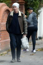Emma Thompson - Out in North London 12/04/2020