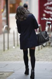 Faye Brookes - Leaving Evelyn House Of Hair and Beauty in Manchester 12/24/2020
