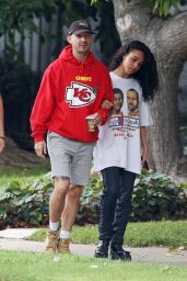 FKA Twigs and Shia LaBeouf - Out in Los Angeles 11/08/2018