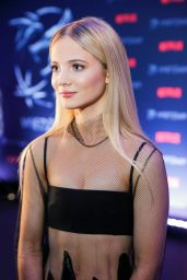 "Freya Allan – ""The Witcher"" Premiere in Warsaw 12/18/2019"