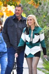 Gwen Stefani - Out in Pasadena 12/21/2020