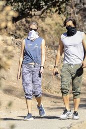 Gwyneth Paltrow and Brad Falchuk Hiking in LA 12/05/2020