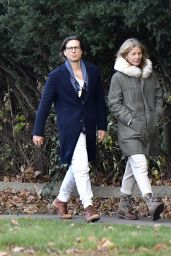 Gwyneth Paltrow With Husband Brad Falchuk Out in the Hamptons 11/29/2020