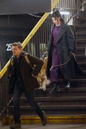 """Hailee Steinfeld - """"Hawkeye"""" Set in NY 12/02/2020"""