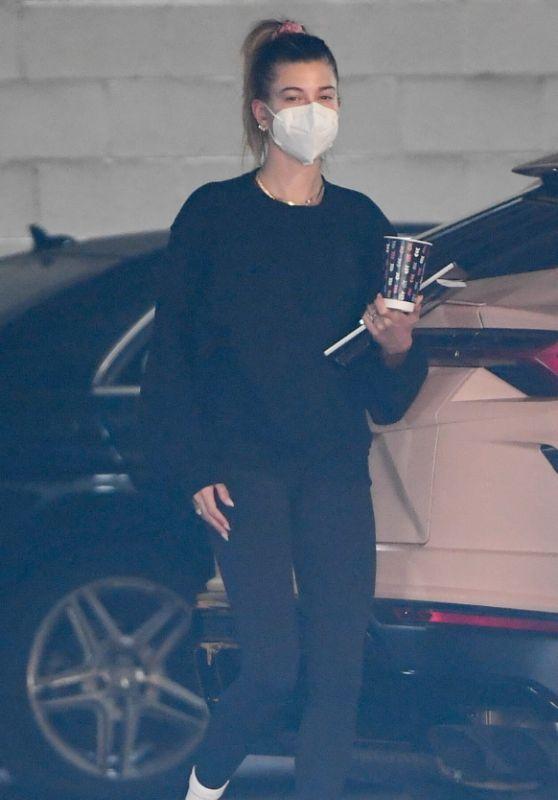 Hailey Rhode Bieber - Arrives at an Office Building in LA 12/22/2020