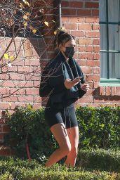 Hailey Rhode Bieber - Leaving a Pilates Class in Los Angeles 12/18/2020