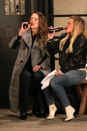 """Hilary Duff and Sutton Foster - """"Younger"""" Set in NYC 12/11/2020"""