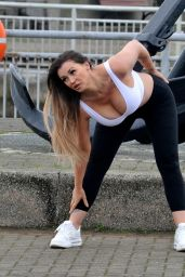 Holly Henderson - Out for a Jog in Liverpool 12/17/2020