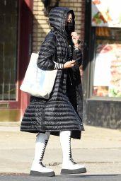 Irina Shayk - Shopping in New York 12/11/2020