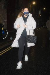 Jacqueline Jossa - Leaving the Dominion Theatre in Central London 12/08/2020