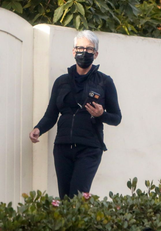 Jamie Lee Curtis - Out in Los Angeles 12/23/2020