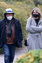Jasmine Carrisi With her Father Al Bano Out in Milan 12/17/2020