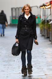Jenni Falconer - Arriving at Global Studios in London 12/14/2020