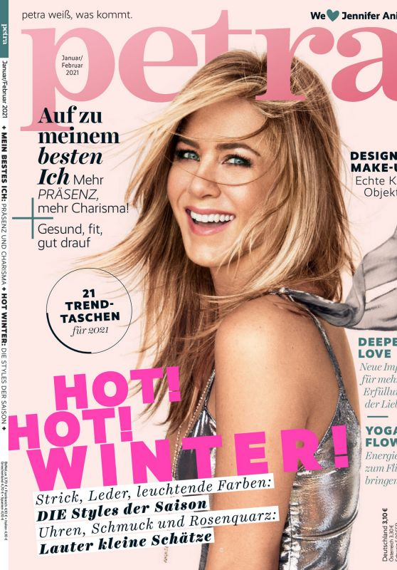 Jennifer Aniston - Petra Magazine January/February 2021 Issue