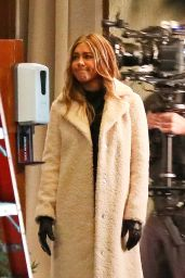 """Jennifer Aniston - """"The Morning Show"""" Set in Los Angeles 12/18/2020"""