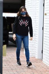 Jennifer Garner - Running Errands in Brentwood 12/17/2020