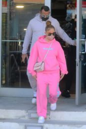 Jennifer Lopez - Leaving the Gym in Miami 12/13/2020