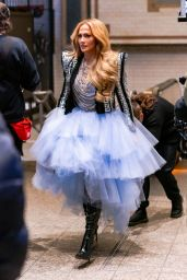 Jennifer Lopez - Times Square on New Years Eve in New York 12/30/2020