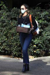 Jessica Alba - Arriving at The Honest Company in LA 12/15/2020