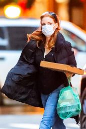 Jessica Chastain - Out in NYC 11/29/2020