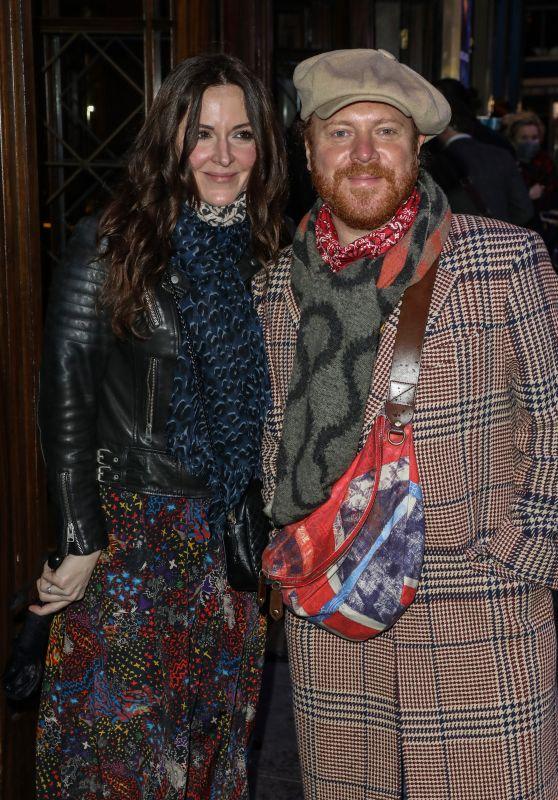 "Jill Carter – ""A Christmas Carol"" Press Night in London"