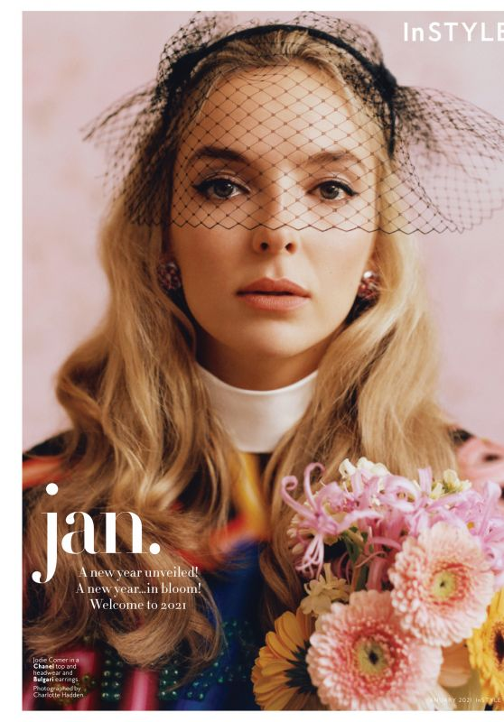 Jodie Comer - Instyle Magazine January 2021 Issue