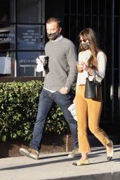 Jordana Brewster - Out in Brentwood 12/26/2020