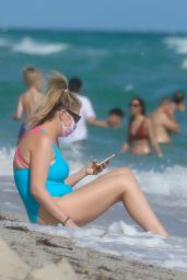 Josie Goldberg in a Swimsuit in Miami 12/23/2020