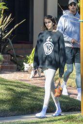 Kaia Gerber in Casual Outfit - Santa Monica 12/08/2020