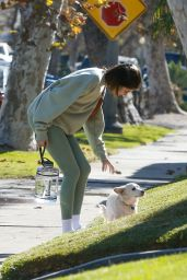 Kaia Gerber in Comfy Outfit - West Hollywood 12/02/2020