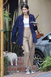Kaia Gerber - Out in Santa Monica 12/15/2020