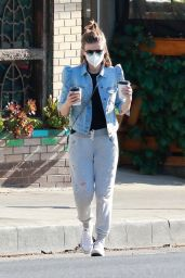 Kate Mara on a Coffee Run in Los Feliz 12/27/2020
