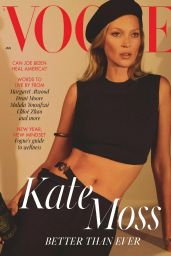 Kate Moss – Vogue UK January 2021 Issue