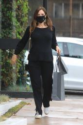 Katharine McPhee - Christmas Shopping at Jhon Varvatos Store in West Hollywood 12/24/2020