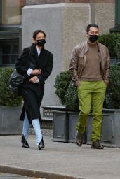 Katie Holmes and Emilio Vitolo Jr. - NYC 12/02/2020