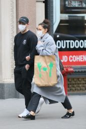 Katie Holmes and Emilio Vitolo Jr. Out in New York 12/22/2020