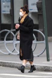 Katie Holmes - Out in NY 12/30/2020
