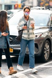 Katie Holmes - Out in NYC 12/13/2020