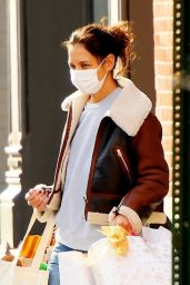 Katie Holmes - Out in SoHo, New York 12/24/2020