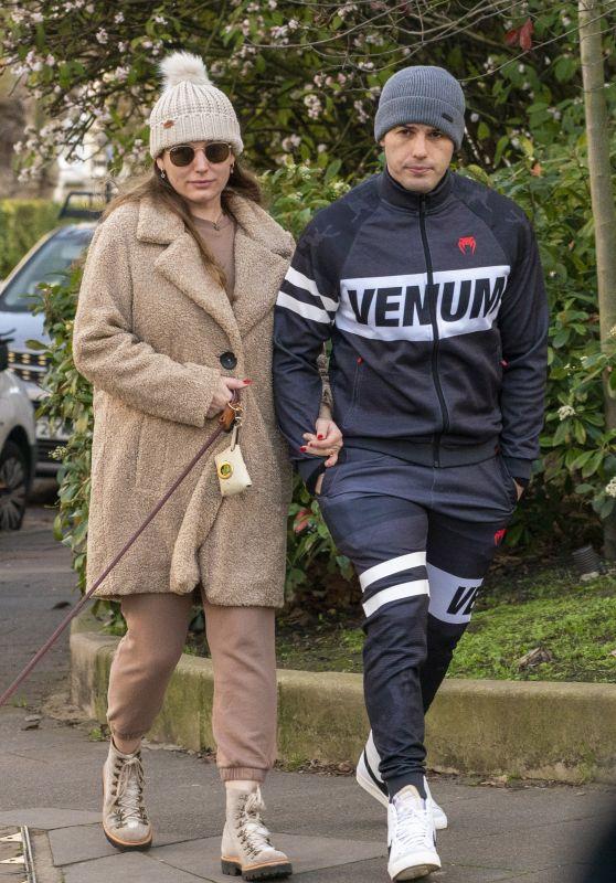 Kelly Brook and Jeremy Parisi - London 12/01/2020