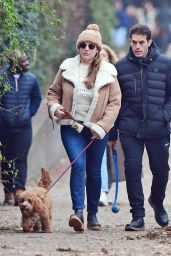 Kelly Brook and Jeremy Parisi - Out in London